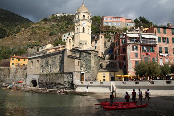 Vernazza , uno de los pueblos mas bellos de la zona