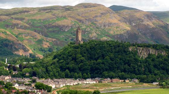 Monumento a William Wallace (Stirling) Escocia Imagen tomada de Wikipedia