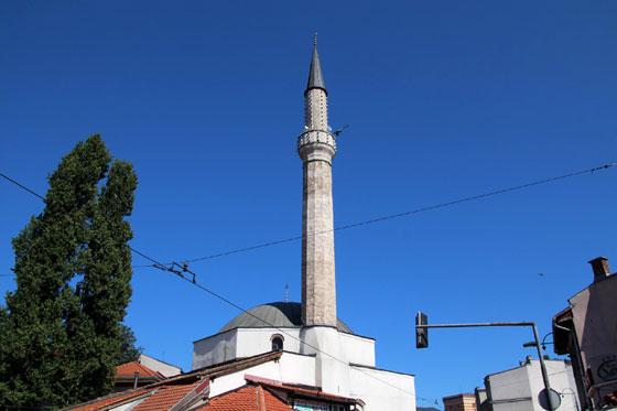 imagen de la gran Mezquita Gazi Husrev-Beg