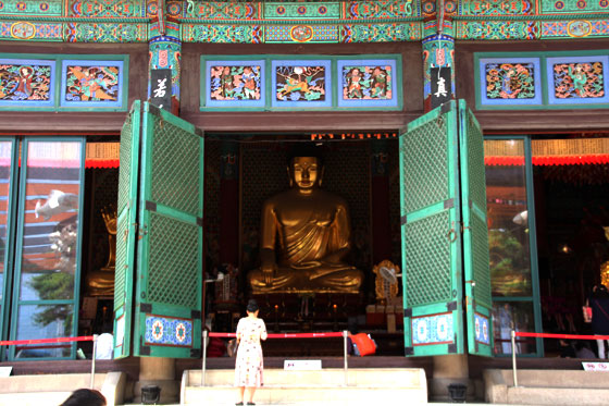 Seul , templo Jogyesa