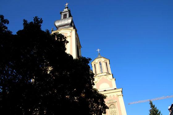 Catedral ortodoxa de Sarajevo (Natividad de la Madre de Dios)