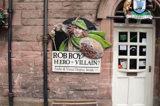 Robert Roy Mcgregor , héroe o villano