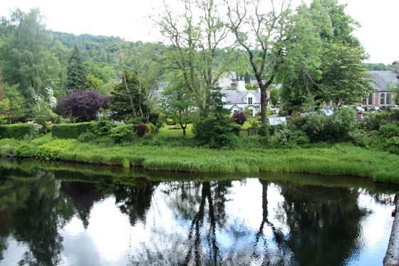 Vistas del río Teith a su paso por Callander