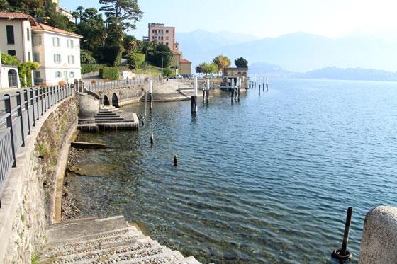 Como moverse por el Lago di como (Puerto de Tremezzo)