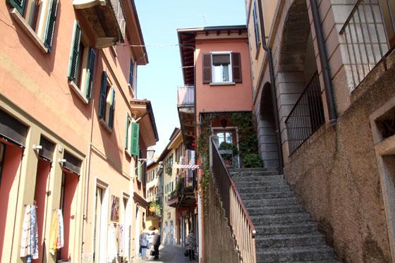 Como moverse por el Lago di como (calles de Bellagio)