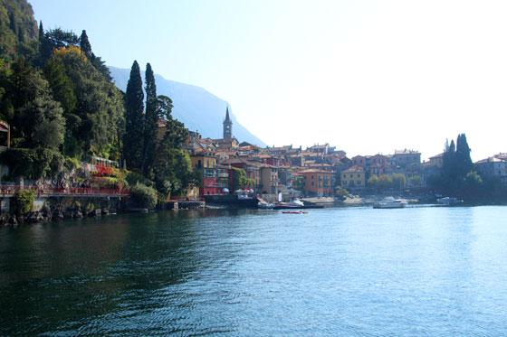 Como moverse por el lago Di Como