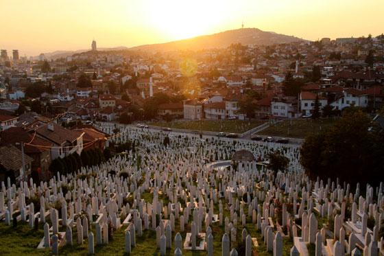 Cementerio musulman sarajevo