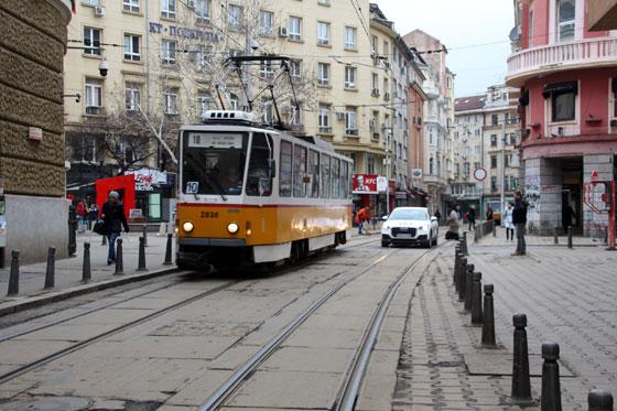 Tranvías , medio de transporte principal