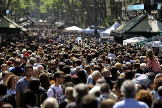 Sant Jordi Barcelona (imagen del El Periódico)