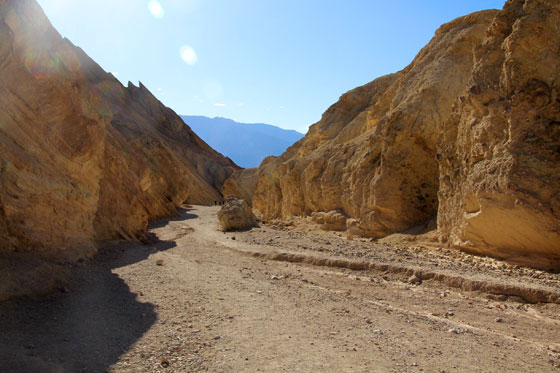 Golden Canyon en death Valley (Ruta por la Costa Oeste)