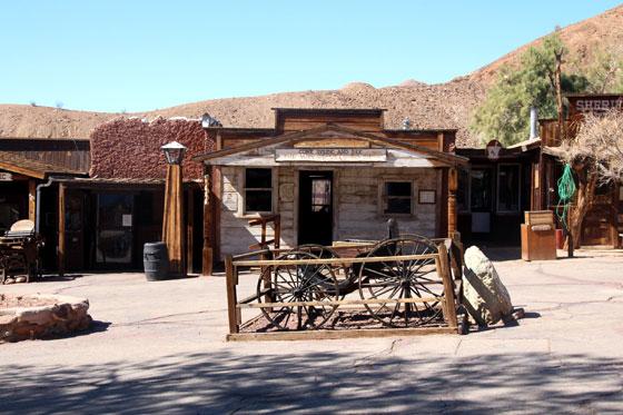 Ciudad minera de Calico