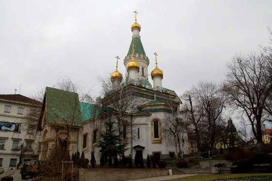 Iglesia rusa de Sofía