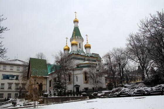Iglesia rusa de Sofía , San Nicolás