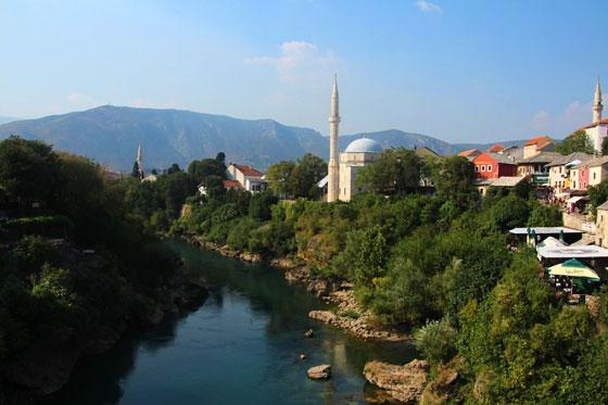 8 lugares que ver en Mostar (río Neretva)