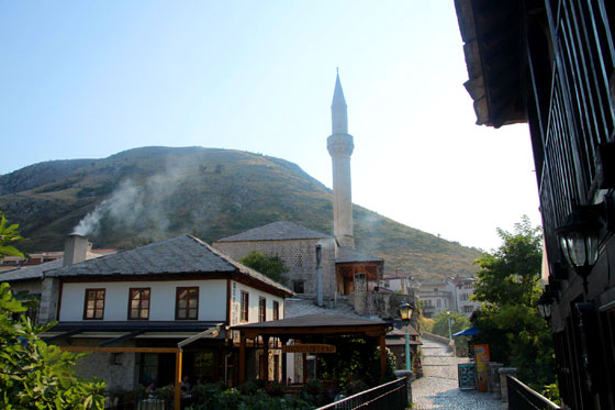 Mezquita en Mostar