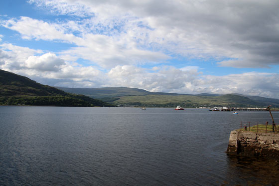 Vistas del lago en Fort William