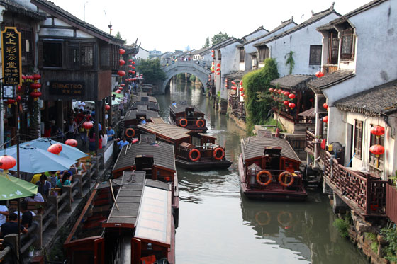 Canales de Suzhou , conservando la tradición