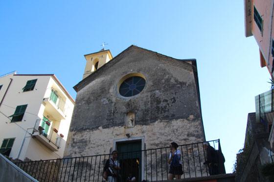 Iglesia de San Pietro , Corniglia