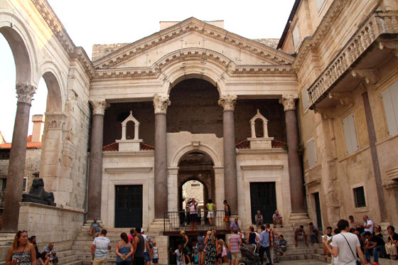 Split , una ciudad monumental