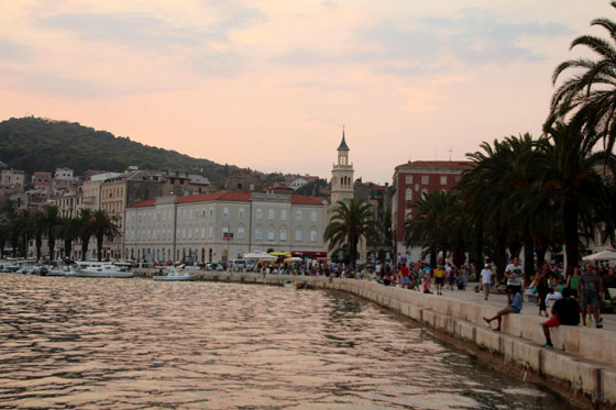 Paseo marítimo o Riva