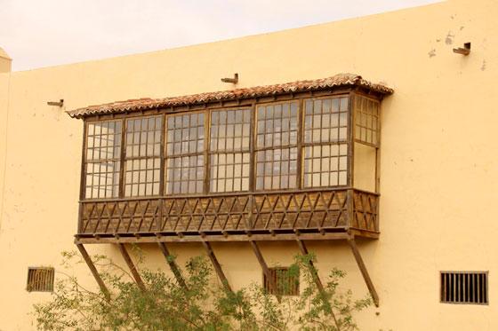 Balcones elaborados en madera