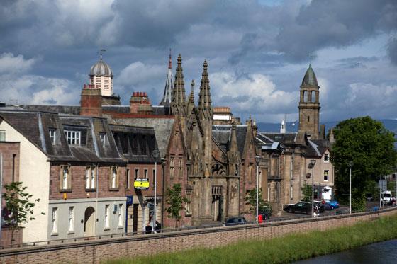 Ciudad de Inverness, una de las joyas de Escocia