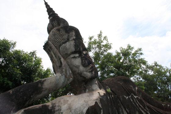 Parque de Buda (escultura gigante)