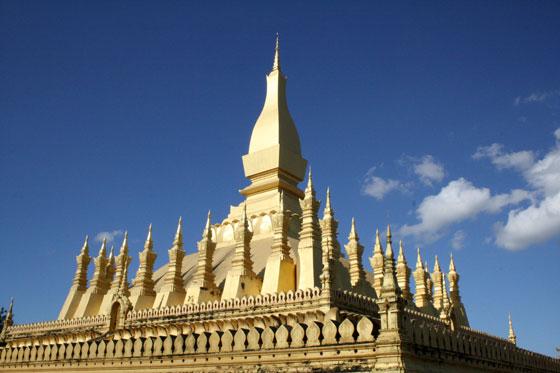 Que ver en Laos (Pha That Luang)