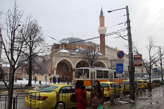 En el centro de la ciudad