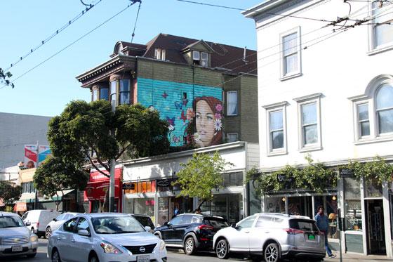 Haight Ashbury , el barrio hippie