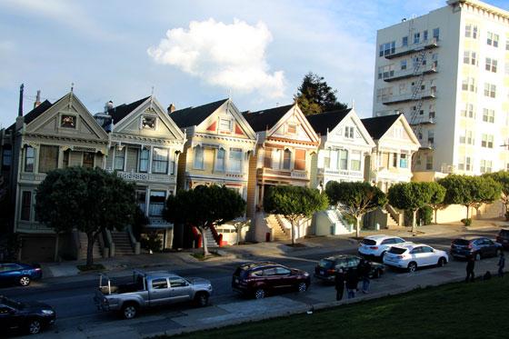 """Las famosas casas de estilo victoriano """"Damas Pintadas"""""""