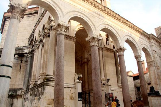 Restos del palacio