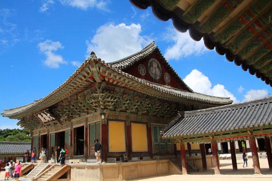 Pabellones del templo