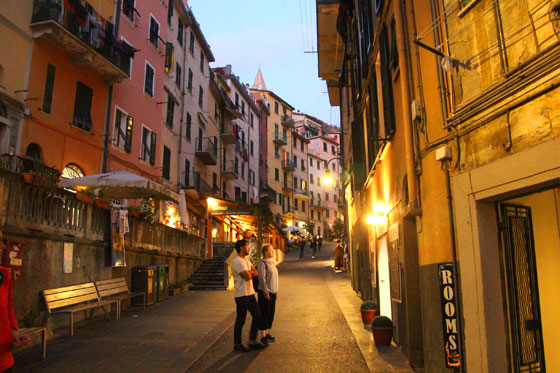 Calles de Riomaggiore