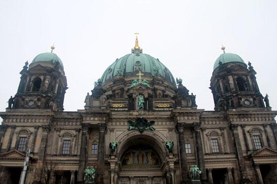 Fachada principal de Berliner Dom