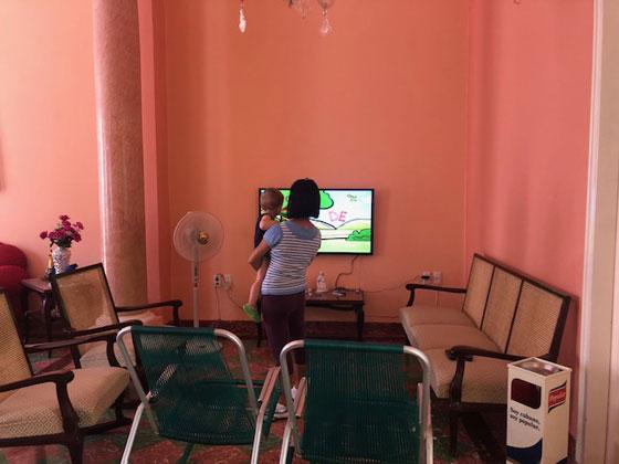 Viajar a Cuba con un bebé (casa Galizia en Camaguey)
