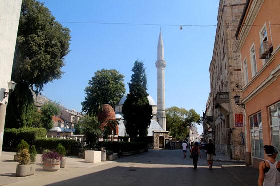 Al fondo vistas de la Mezquita