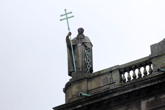 exterior de la Iglesia de Trindade