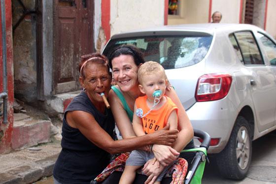 Viajar a Cuba con un bebé