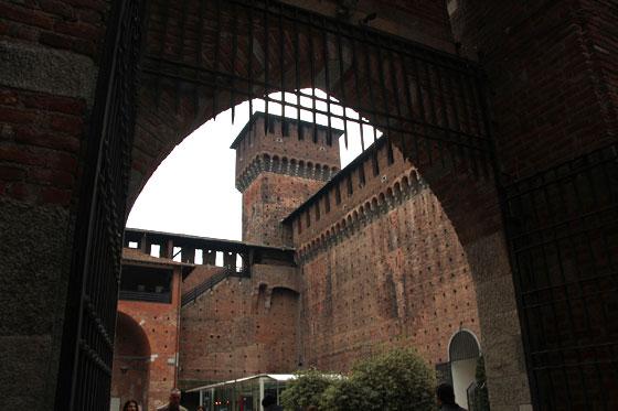 Milán , castillo Sforzesco