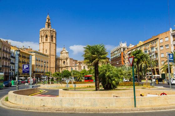 Campanario y Catedral de Valencia