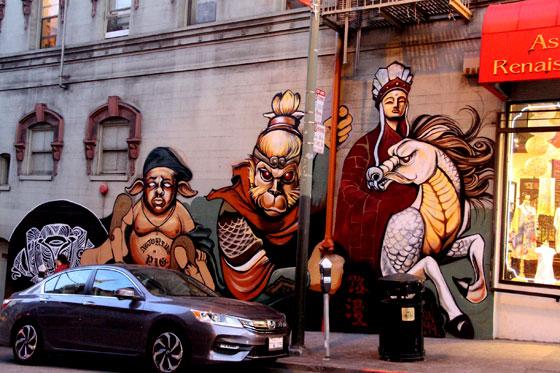 Murales de Chinatown