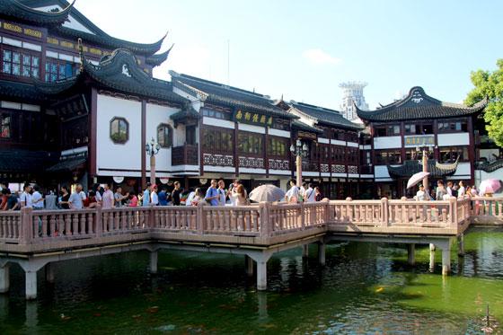 Vistas del Jardín Yuyuan