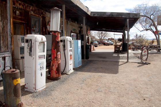 La gasolinera mas famosa de la Ruta 66