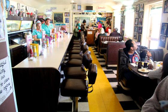 Interior de uno de los bares mas famosos de la Ruta 66