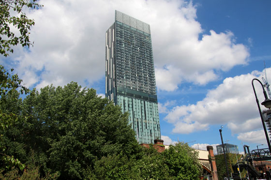 Hilton Tower Castlefield