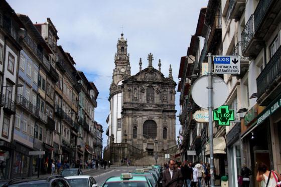 Iglesia y Torre de los Clérigos (Vistas del conjunto arquitectónico)