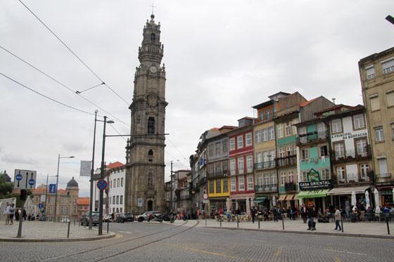 Iglesia y torre de los Clérigos (plaza de los ahorcados)
