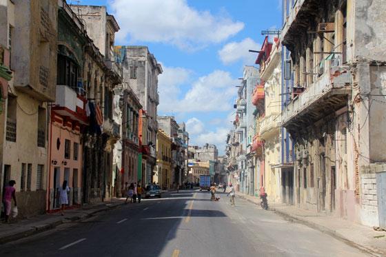 Barrio de centro Habana