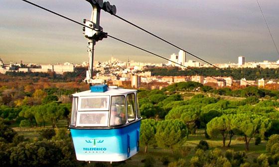 Vistas del Teleférico de Madrid